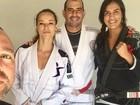 Paolla Oliveira treina jiu-jítsu para viver policial em 'A Força do Querer'
