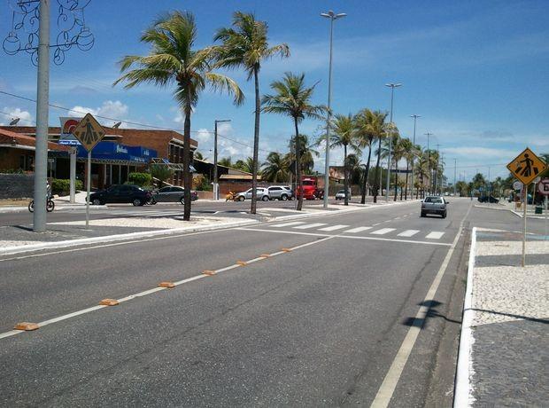Assédio teria ocorrido em um hotel na Orla de Atalaia, na Zona Sul de Aracaju (SE) (Foto: Marina Fontenele/G1 SE)