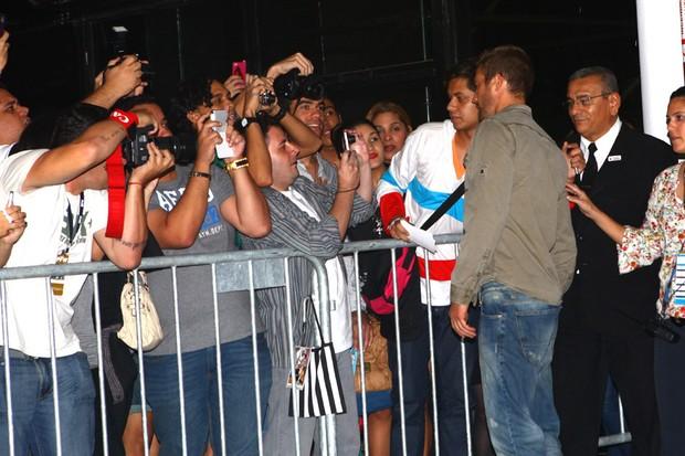 Paul Walker na SPFW (Foto: Iwi Onodera / EGO)