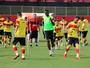 Com treino fechado, Vitória finaliza preparação; Marcelo é relacionado