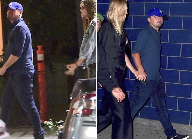 Leonardo DiCaprio vai a boate com Lorena Rae e sai com Toni Garrn (Foto: The Grosby Group)