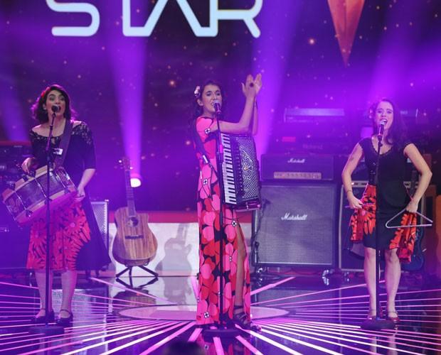 Trio conquista 84% dos votos na primeira noite de Audição (Foto: Isabella Pinheiro/ Gshow)