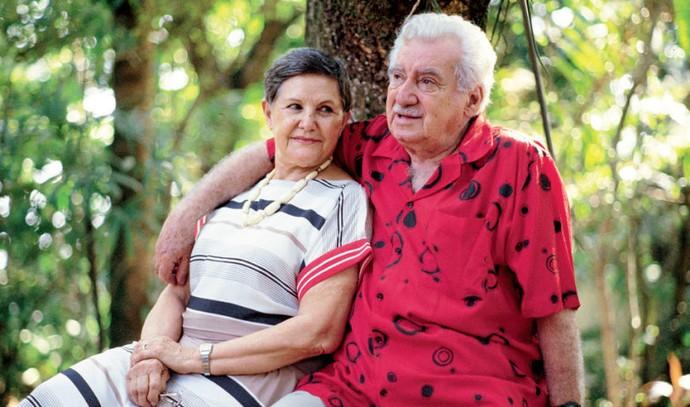 Zélia Gattai e Jorge Amado foram casados por mais de 50 anos (Foto: Divulgação)