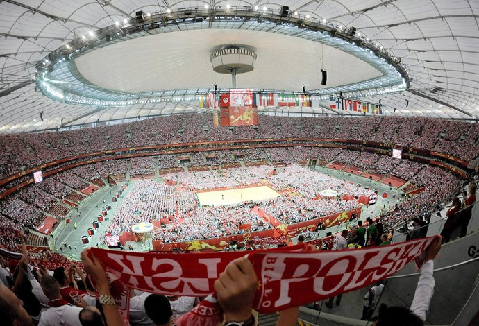 cerimônia abertura vôlei na Polônia (Foto: EFE)