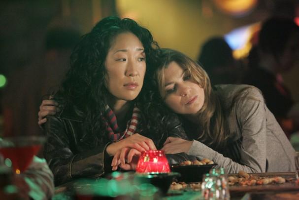 Cristina Yang e Meredith Grey (Foto: Reprodução)