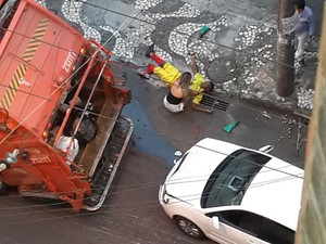 acidente (Foto: Bruno Castelluccio/Arquivo Pessoal)