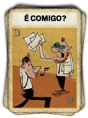 30% dos trabalhadores brasileiros se consideram desengajados e 26% se queixam de não ter apoio de suas empresas, segundo uma pesquisa feita pela consultoria Towers Watson  (Foto: Ilustração Caco Galhardo)