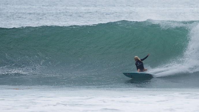 Tatiana Weston-Webb etapa de trestles mundial de surfe (Foto: WSL/Kirstin)
