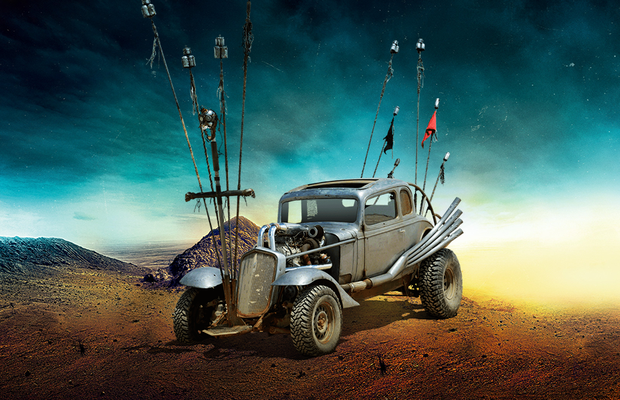Carro Nux, do filme Mad Max: Estrada da Fúria (Foto: Warner Bros.)