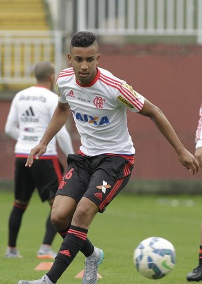 Jorge, Flamengo, Arena Joinville (Foto: Gilvan de Souza / Flamengo)
