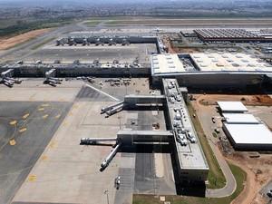 Novo terminal do aeroporto de Viracopos (Foto: Aeroportos Brasil Viracopos)
