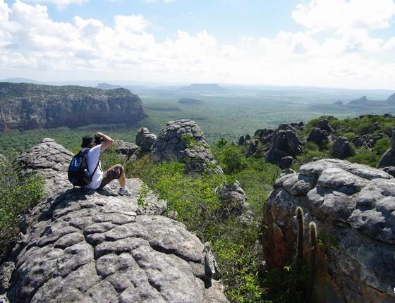 Parque Nacional do Catimbau, uma das unidades de conservação da Caatinga (Foto: Guilherme Jófili - Wikimedia Commons)
