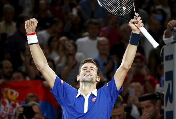 Novak Djokovic Masters 1000 Paris (Foto: Reuters)