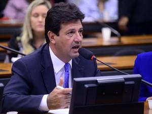 O deputado Mandetta (DEM-MS) foi o primeiro a registrar presença no Conselho de Ética (Foto: Gustavo Lima/Câmara dos Deputados)