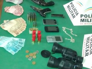 Armas (Foto: Polícia Militar)