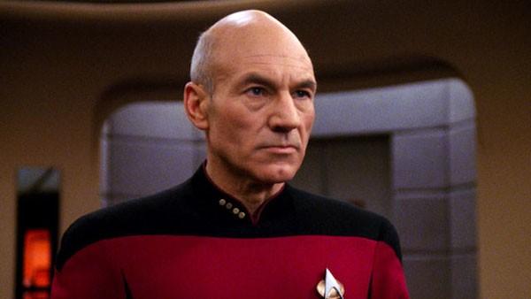 O ator Patrick Stewart em cena de 'Star Trek' (Foto: Reprodução)
