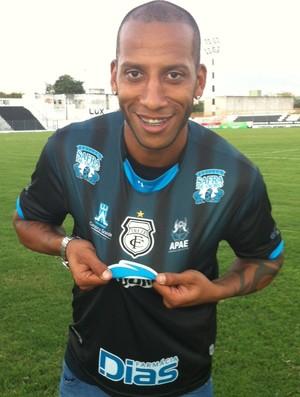 Tiago Chulapa, Treze, Atacante, Série C, Campeonato Brasileiro (Foto: Divulgação / Treze)