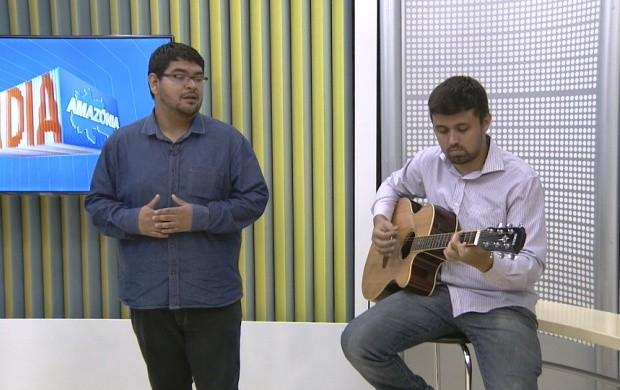 Cantor lírico de Roraima fala sobre apresentação em Israel (Foto: Bom Dia Amazônia)