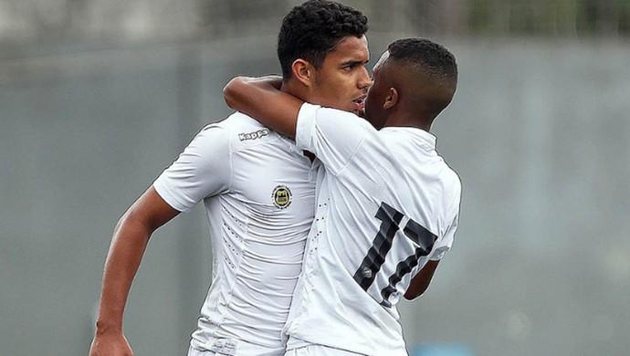 Santos sub-17 (Foto: Pedro Ernesto Guerra Azevedo / Santos FC)