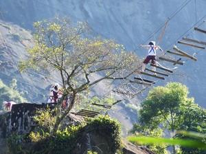 Esportes de aventura também fazem partes das atividades do parque (Foto: Divulgação)