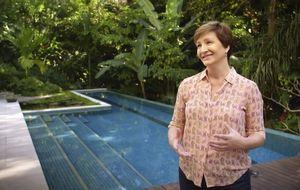 Sônia Bridi abre sua casa sustentável no Rio de Janeiro