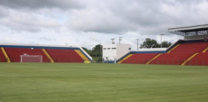 Estádio Ernesto Rocco Porto Feliz (Foto: Divulgação / Desportivo Brasil)