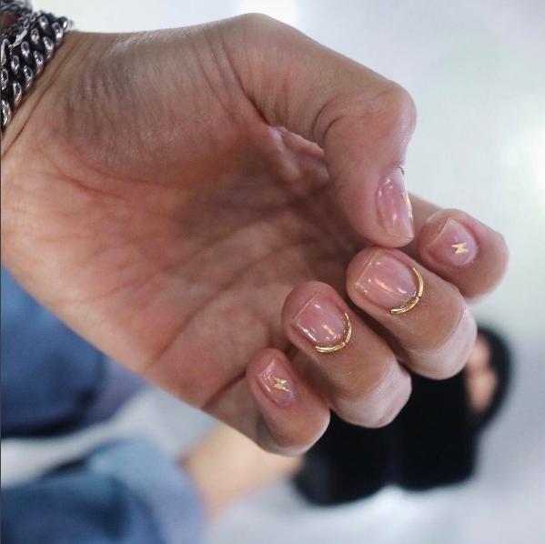 Nail Art com arame (Foto:  Reprodução/Instagram)