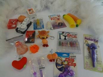 Produtos são os preferidos para as brincadeiras de amigo secreto (Foto: Adriana Justi / G1)