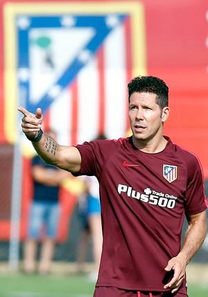 Diego Simeone técnico Atlético de Madrid (Foto: Reprodução / Facebook)