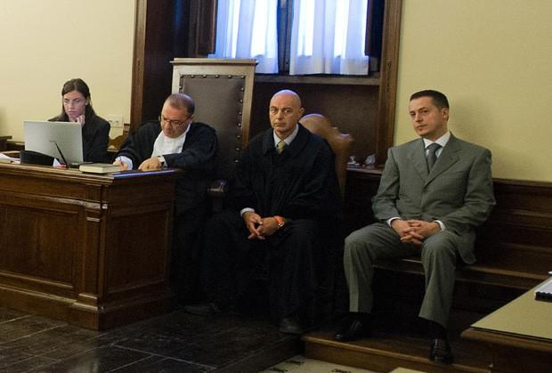 julgamento de Paolo Gabriele (Foto: L'Osservatore Romano/AP)