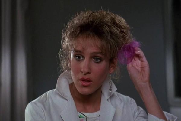 A atriz Sarah Jessica Parker em cena de O Voo do Navegador (1986) (Foto: Reprodução)