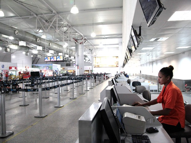 Aeroporto tem queda na movimentação nos primeiros meses de 2016 (Foto: Flora Dolores/O Estado/Arquivo)