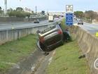 Polícia rodoviária registra acidentes em Caçapava e São José na Dutra