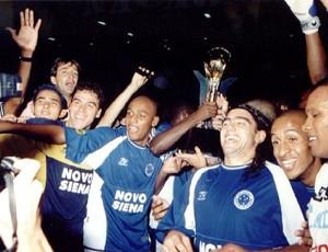 Cruzeiro Copa Sul Minas campeão 2001 (Foto: Divulgação/Site oficial do Cruzeiro)