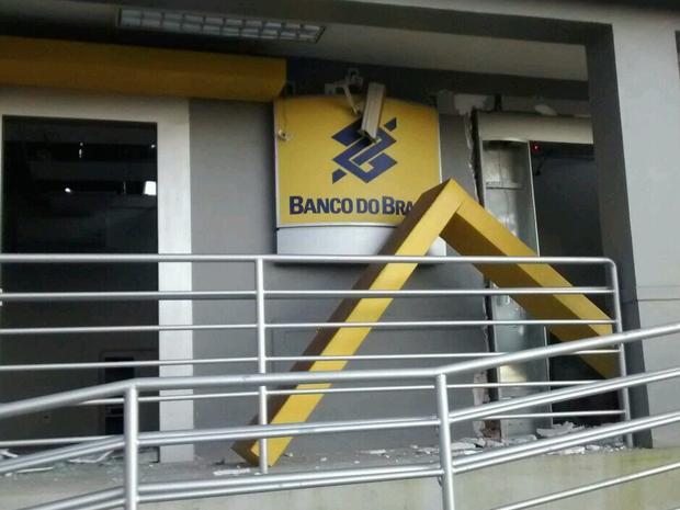 Segundo delegado, agência ainda não havia sido inaugurada, apenas caixa funcionava (Foto: Divulgação/Blog Agreste Violento)