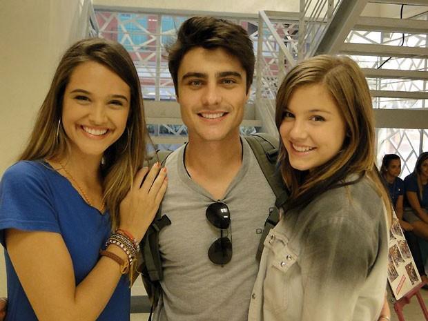 Na trama, Vitor vai chamar a atenção das meninas! Vai rolar química com Lia e Fatinha (Foto: Malhação / Tv Globo)