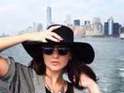 Luiza Valdetaro curte folga e passeia por Nova York