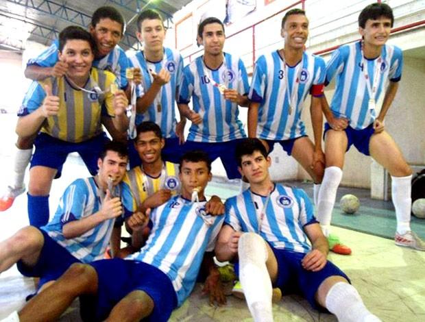 Lucas Geraldo Cunha Barbosa atleta de futsal de Formiga (Foto: Reprodução)