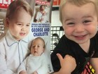 Foto de sósia do príncipe George faz sucesso na internet