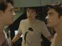 Rodrigo e Tito brigam por causa de Luciana