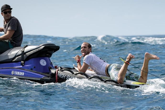 CJ Hobgood surfe (Foto: WSL)
