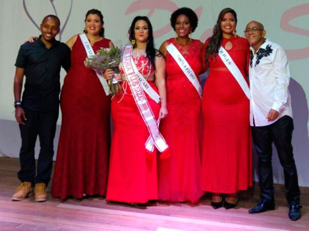 Vencedoras do concurso Miss Plus Size em Salvador (Foto: Divulgação)