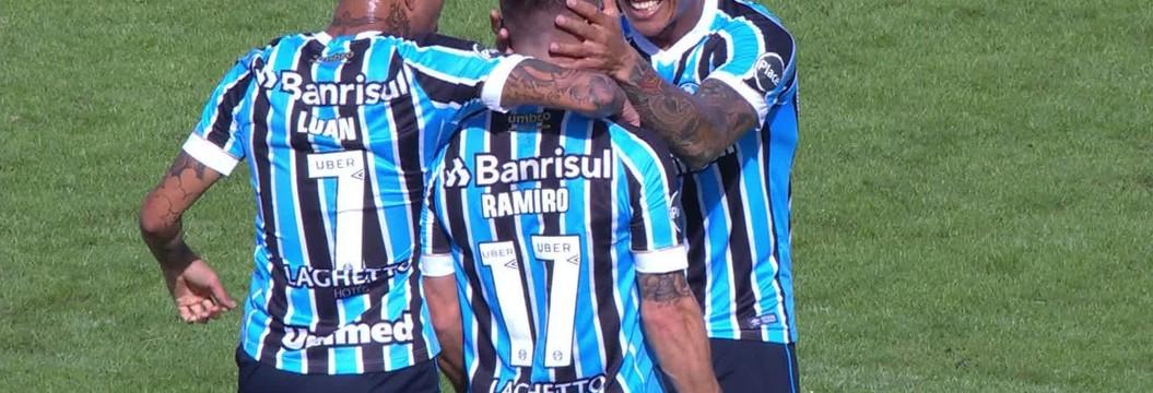 Avenida x Grêmio - Campeonato Gaúcho 2018 - globoesporte.com 1838af839869f