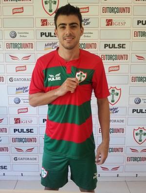 Milton Júnior Portuguesa Volante (Foto: Marcos Teixeira)