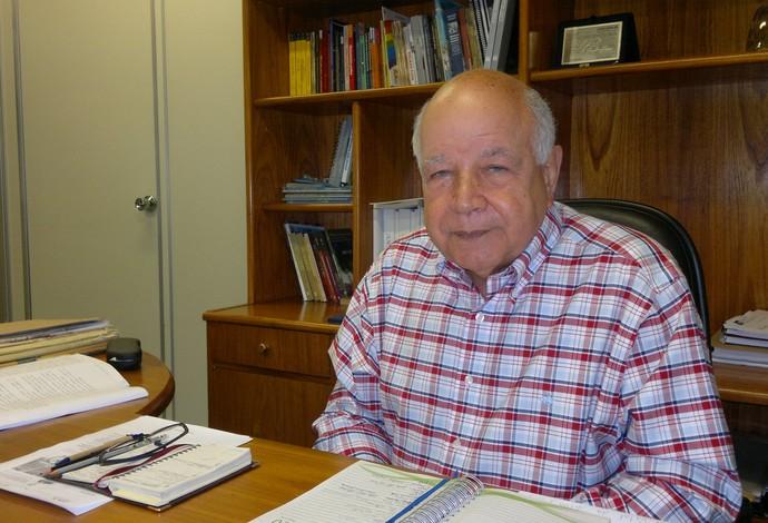 Carlos Alberto Muniz, secretário municipal de meio ambiente (Foto: Leonardo Filipo)