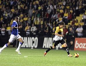 Ivo e Dedé Criciúma x Cruzeiro (Foto: Fernando Ribeiro/Criciúma EC)
