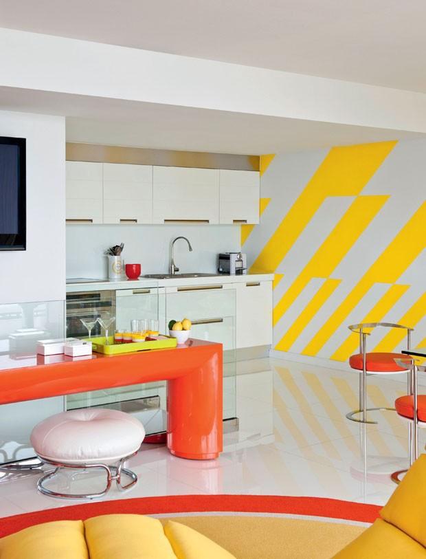 12 ideias para ter uma cozinha amarela (Foto: Reprodução)
