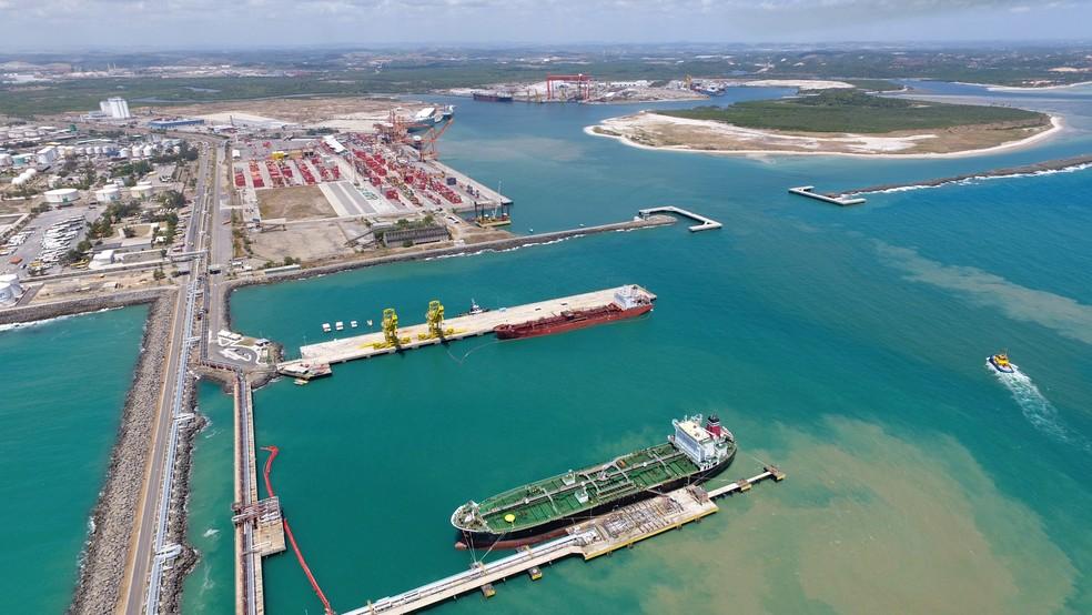 Porto de Suape fica no Grande Recife (Foto: Ascom/Suape)