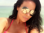 Solange Gomes impressiona em selfie com seios gigantes