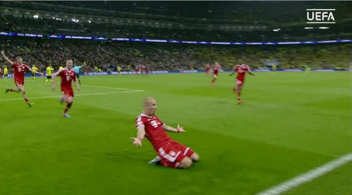 Robben, Bayern de Munique x Borussia Dortmund
